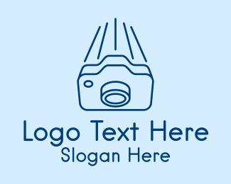 Vlogger - Fast Camera Photography logo design