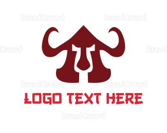 Helmet - Warrior Helmet logo design