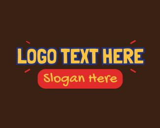 Text - Kiddie Playful Text logo design