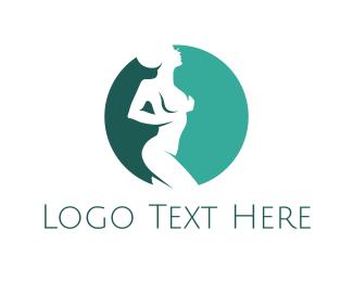 Sexy - Naked Alien logo design