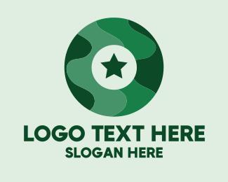 Letter O - Military Letter O logo design