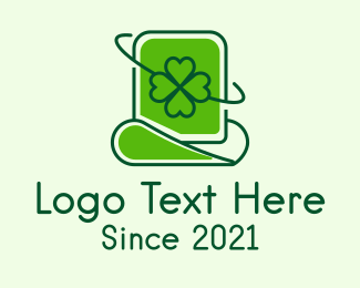 Leprechaun Hat - Saint Patrick Day Hat logo design