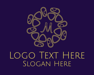 Institution - Abstract Lettermark logo design