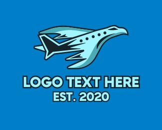 Hawk - Hawk Flights logo design
