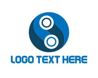 Letter O - Tech Letter O logo design
