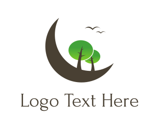 Outdoors - Moon Park logo design