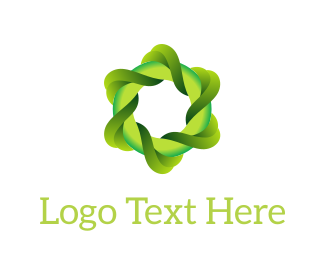 Eco Energy - Eco Swirl logo design