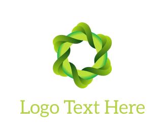 Curl - Eco Swirl logo design