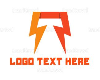Thunderbolt - Thunderlbolt Energy logo design