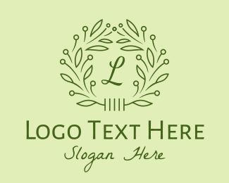 Foliage - Fancy Natural Lettermark  logo design