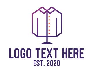 Masculine - Geometric Masculine Clothing logo design