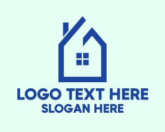 Window Cleaning - Traditional Single House  logo design