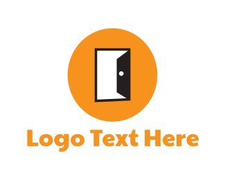 Gate - Open Door logo design