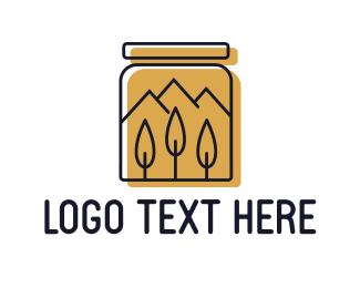 Mason - Honey Jar logo design