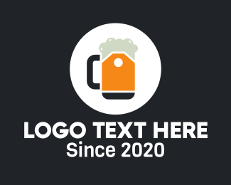 Price Tag - Beer Price Tag logo design