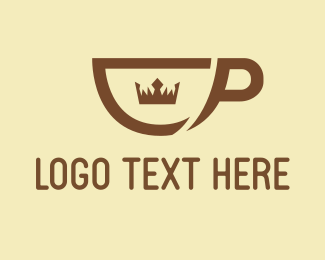 Prince - Royal Coffee logo design