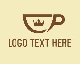 Hot Chocolate - Royal Coffee logo design