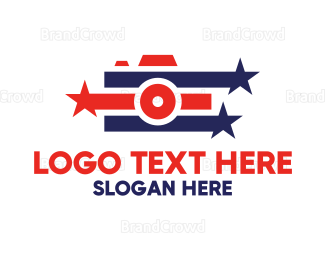 America - American Photographer logo design