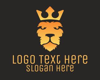 """Gradient Lion Head"" by LogoBrainstorm"