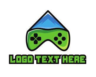 Fuji - Modern Peak Gaming logo design