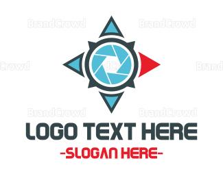 Wanderlust - East Compass logo design