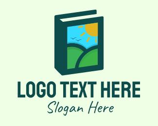 Morning - Travel Guide Book logo design