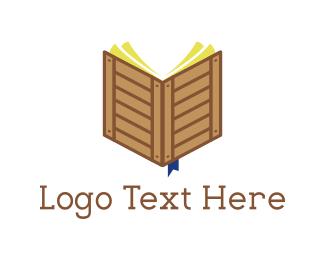 Crate - Crate Book logo design