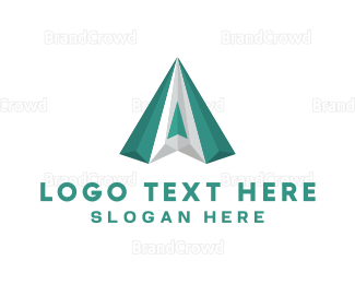 Emerald - Green Diamond logo design