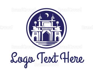 India - India Mumbai Gateway logo design
