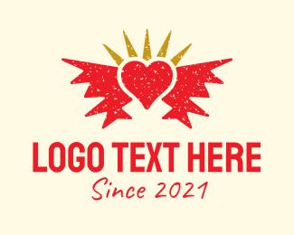 Tattoo - Heart Tattoo Art logo design