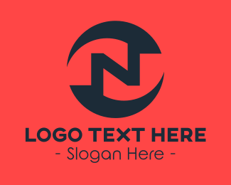 Letter N - Business Letter N logo design