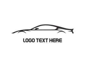 Furnitureinterior Black Car logo design