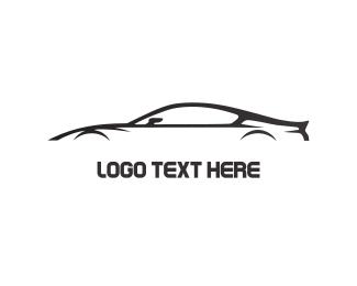 Auto - Black Car logo design