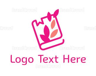 Craft - Girl Journal logo design