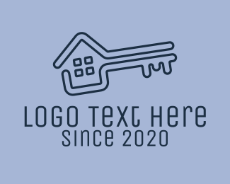 Room - Key House Realty logo design