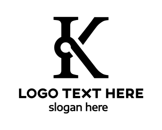 Kosher - Special Black K logo design