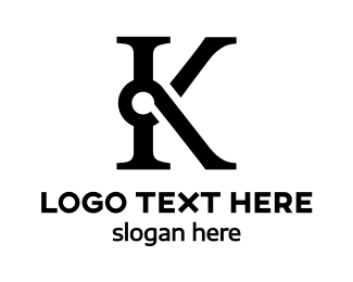 Law Firm - Special Black K logo design