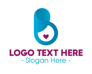 Pregnancy - Pregnancy Love logo design