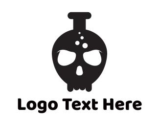 Tattoo - Lab Skull logo design