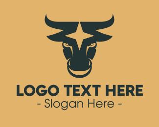 Star - Bull Star logo design