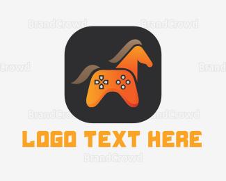 Horse - Horse Gamer logo design