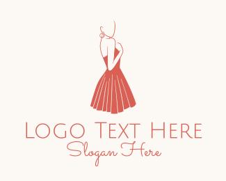 Fashion Designer - Dressmaker Fashion logo design