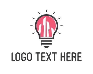 Glow - Bright City logo design