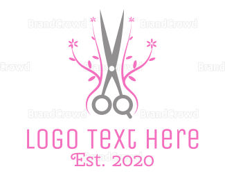 Gardener - Hair Salon  logo design