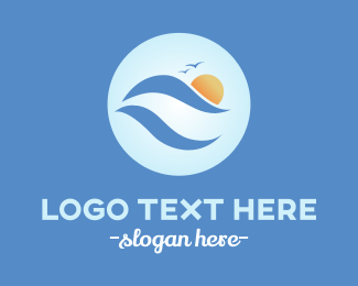 Brittany - Ocean Waves logo design
