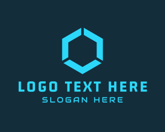 """Blue Hexagon"" by atSIGN"