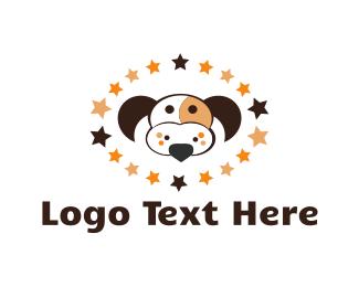 Beagle - Dog Constellation logo design