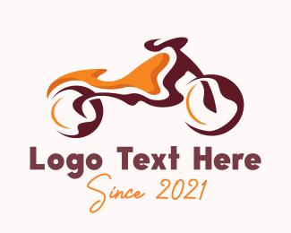 Moto - Abstract Motorbike logo design