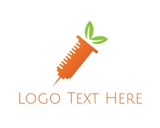 Esthetics - Carrot Shot logo design