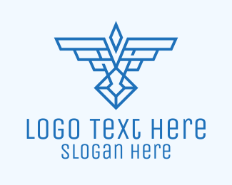 Military - Military Wings Crest logo design